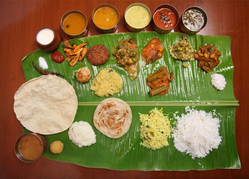 lunch in tamilnadu